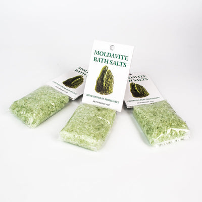 Moldavite Bath Salts - Crystal Magic online