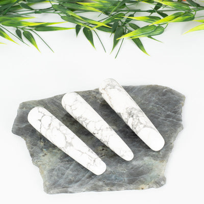 Howlite Crystal Wands-Crystal Wand-Crystal Magic online
