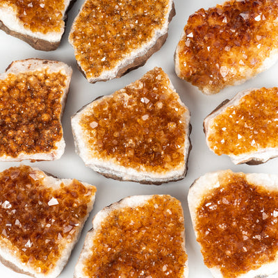 Citrine Clusters-Crystal Magic online