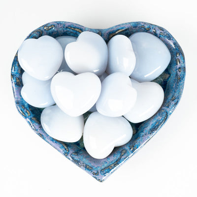 Blue Chalcedony Hearts-Crystal Magic online