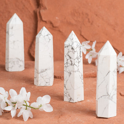 Howlite Points-Crystal Point-Crystal Magic online