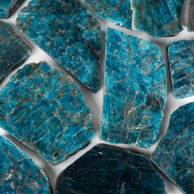 Blue Apatite Slabs-Crystal Slab-Crystal Magic online