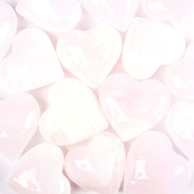 Pink Calcite Hearts-Crystal Heart-Crystal Magic online
