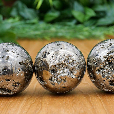 Pyrite Spheres - Crystal Magic online