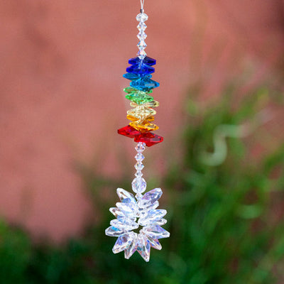 Beaded Cluster Suncatcher - Crystal Magic online