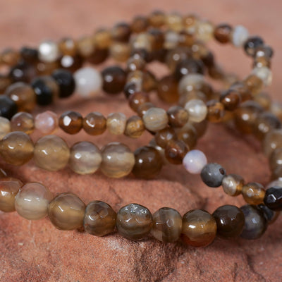 Brown Agate Bracelet - Crystal Magic online