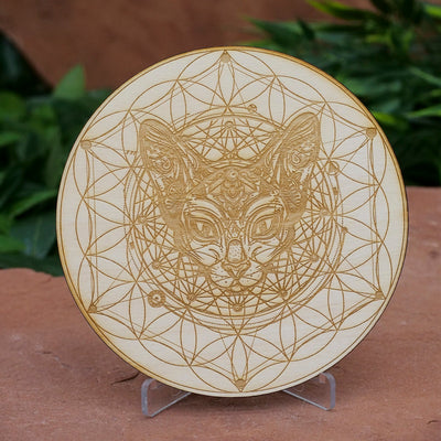 Cat Flower Of Life Grid - Crystal Magic online
