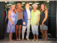 Owner Leslee Fragnoli-Garrison with her mother and sisters.