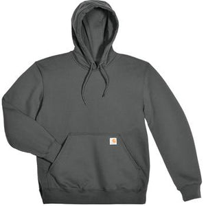 Carhartt Rain Defender Paxton Hooded Heavyweight Sweatshirt - CHARCOAL Color