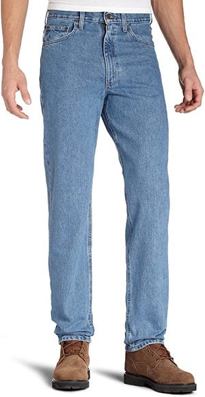 Carhartt Men's Relaxed Fit Jean - Stonewash
