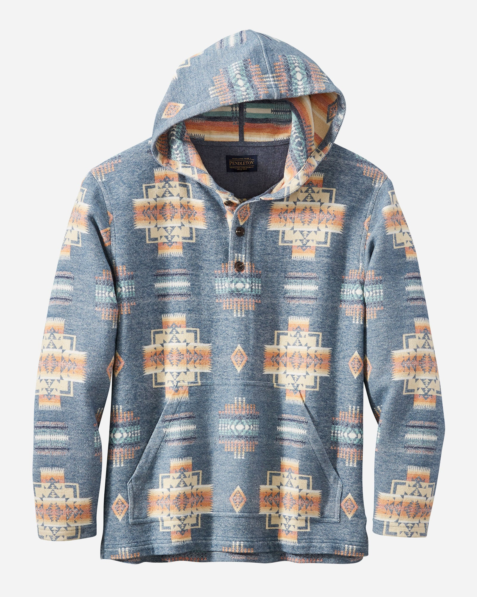 Men's Hoodie Popover by Pendleton