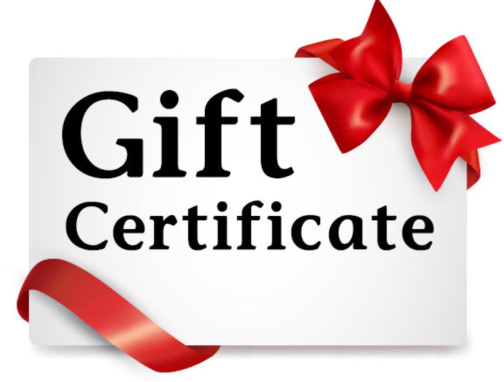 ROLAND'S GIFT CERTIFICATE - $25