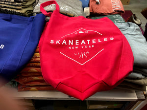 Skaneateles New York 1833 Tote Bag - Grenadine