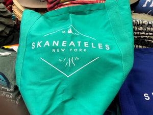 Skaneateles New York 1833 Tote Bag - Seafoam