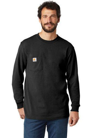 Carhartt Men's Long-Sleeve Workwear T-Shirt K126 - Black