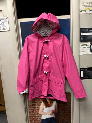 Women's Raincoat - Pink
