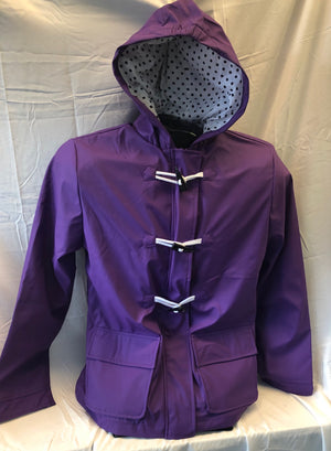 Women's Raincoat - Purple
