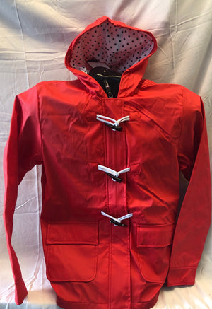 Women's Raincoat - Red