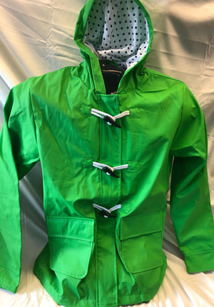Women's Raincoat - Green