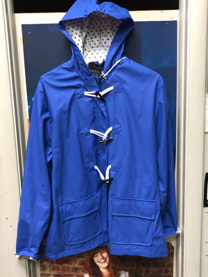 Women's Raincoat - Blue