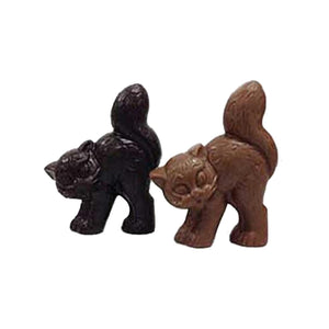 EMVI Mini Milk or Dark Chocolate Halloween Cat