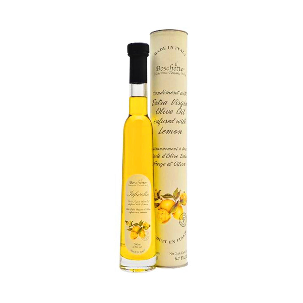 Il Boschetto, Lemon-Infused Extra Virgin Olive Oil (6.76oz)^