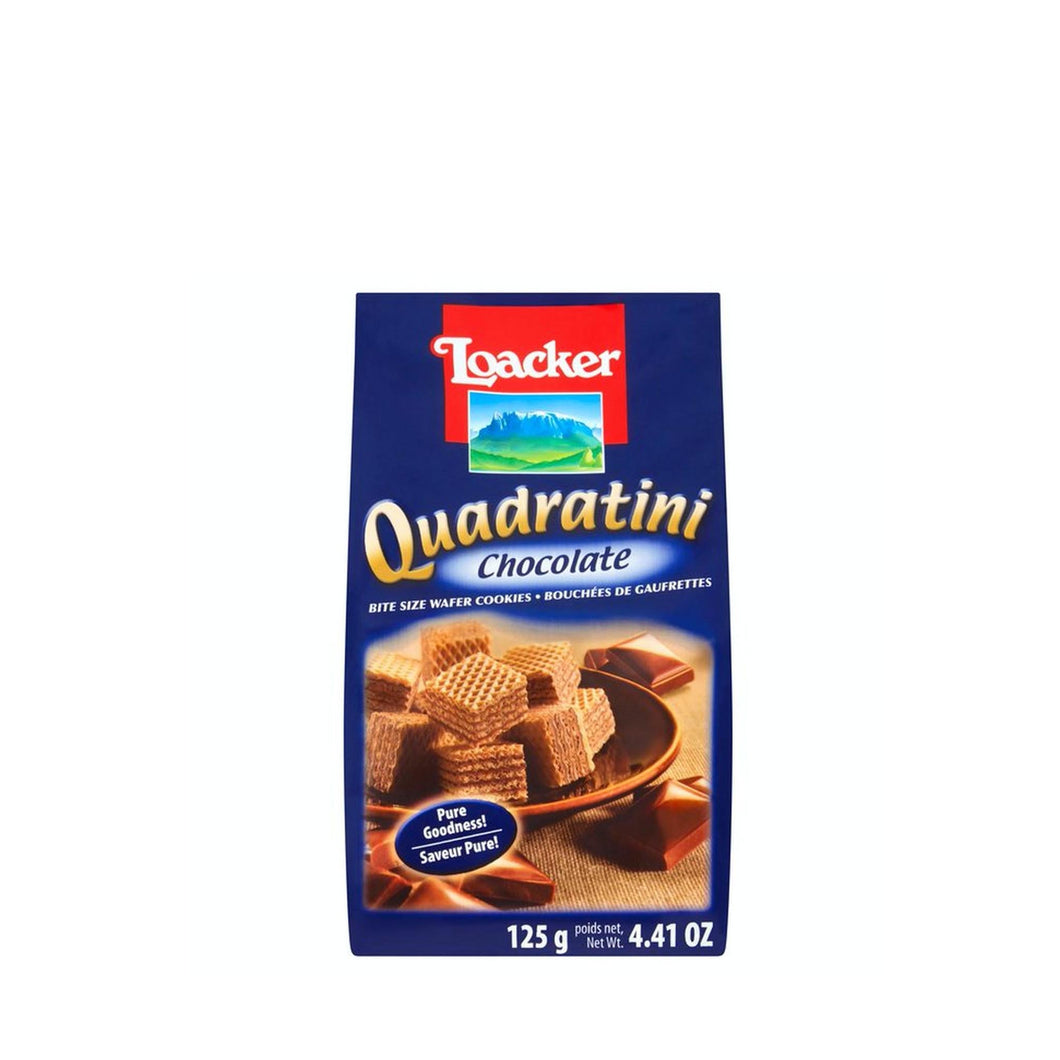 Loacker, Chocolate Quadratini (250gr)