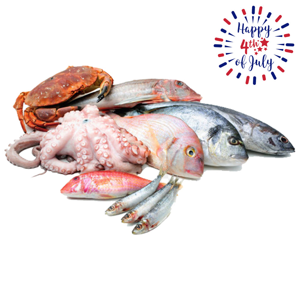 Fourth of July Fish Grill Package