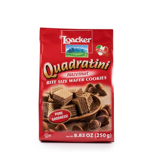Loacker, Quadratini Hazelnut (8.82oz)*