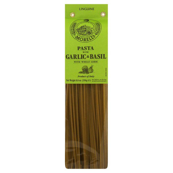 Antico Pastificio Morelli, Linguine with Garlic & Basil (.5lb)*