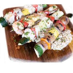 Grill-ready Swordfish Spiedini (Skewers)@