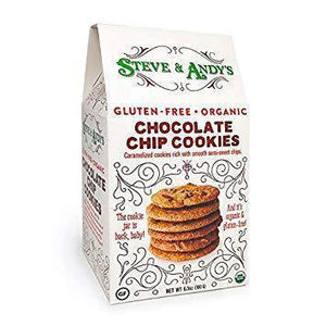 Steve & Andy's, GF Chocolate Chip Cookies (6.3oz)*