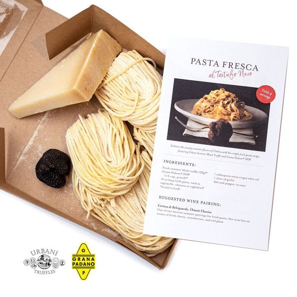 Tagliolini with Fresh Summer Black Truffle Kit