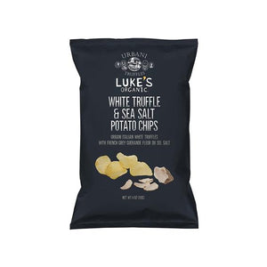 Luke's Organic, White Truffle & Sea Salt Potato Chips (12oz)^