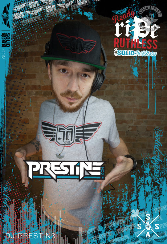 DjPrestin3 #Prestin3 #Solidapparel #SolidSoldiers #DJ #DNB #Bass #Jungle #JumpUp #Music