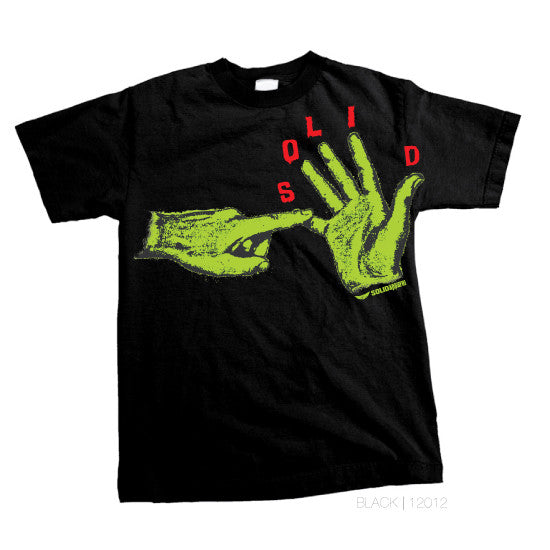 5 Finger - MENS T-Shirt - Black