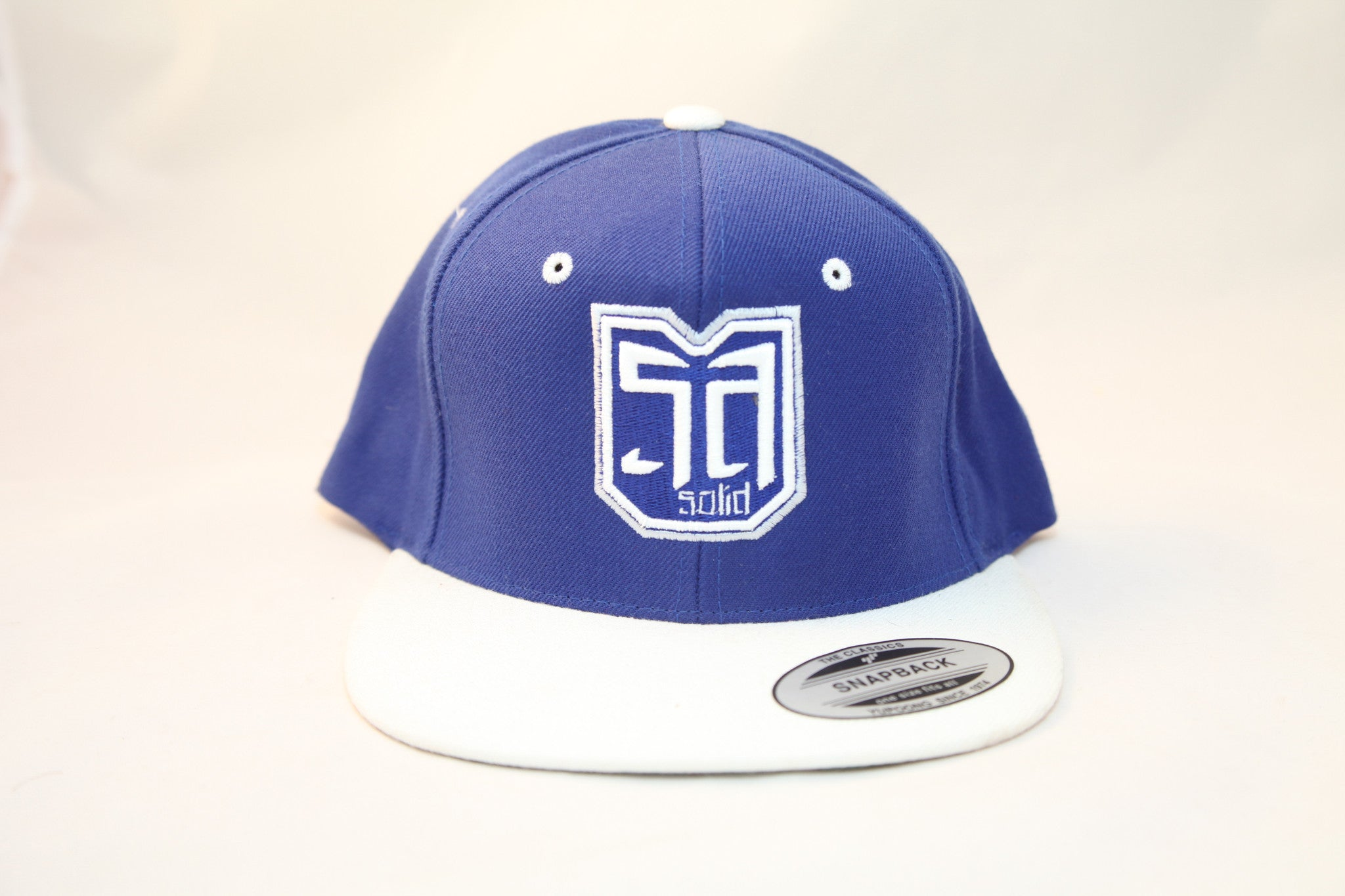 AV8 SHEILD - SNAP BACK - BLUE / WHITE - WHT / BLU LOGO