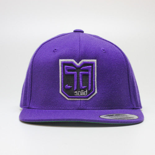AV8 SHEILD - SNAP BACK - Purple