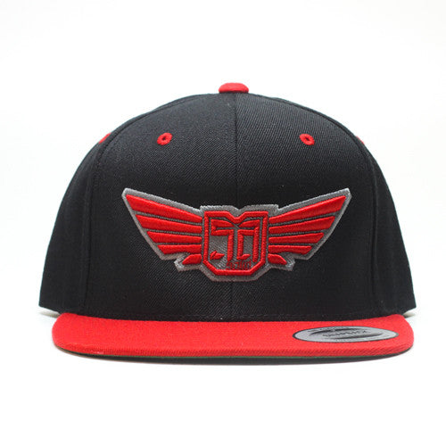 AV8 - SNAP BACK - Black / RED