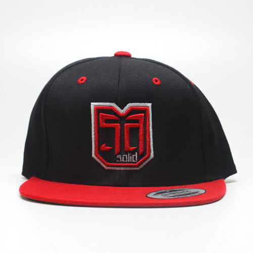 AV8 SHEILD - SNAP BACK - RED / BLACK