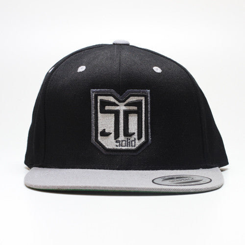 AV8 SHEILD - SNAP BACK - Silver Grey