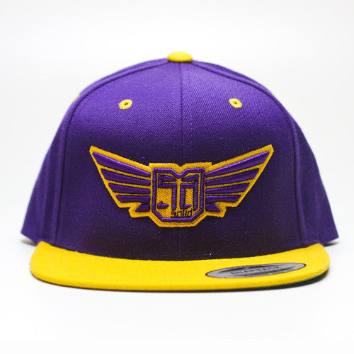 AV8 - SNAP BACK - Purple / Yellow