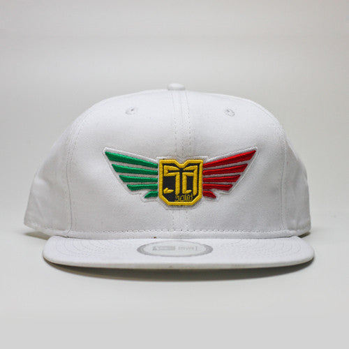 AV8 - SNAP BACK - White Rasta