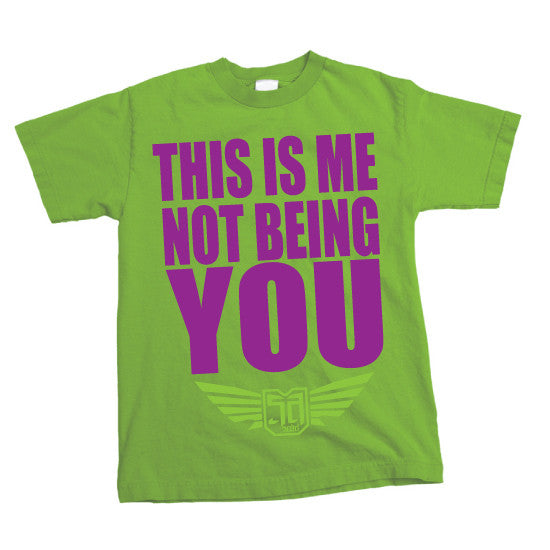 SOLID APPAREL - THIS IS ME - Lime
