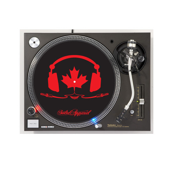 TURNTABLE - SLIP MATS - TUNE IN - BLACK