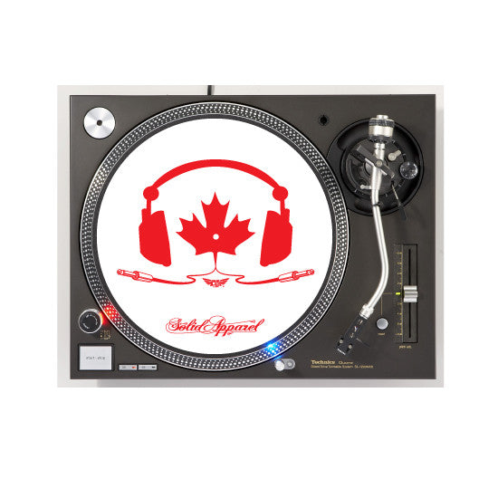TURNTABLE - SLIP MATS - TUNE IN - WHITE
