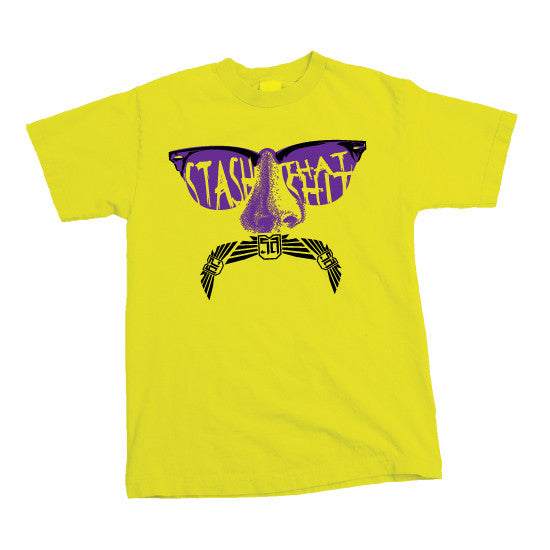 Stash - MENS T-Shirt - Yellow