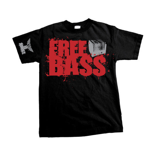 Free Bass - MENS T-Shirt - Black