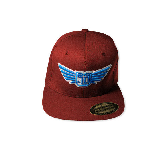 AV8 - FLEXFIT HAT - BURGUNDY