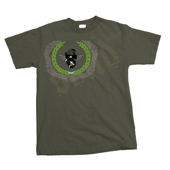 TO THE DEATH - MENS T-Shirt - ARMY